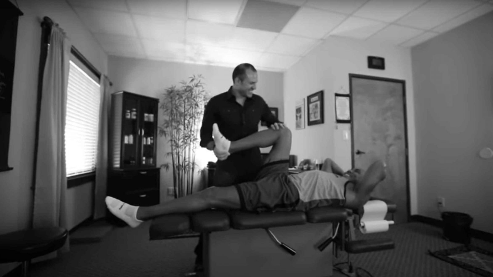Dr. Malucci Helps Hines Ward Prepare for Ironman