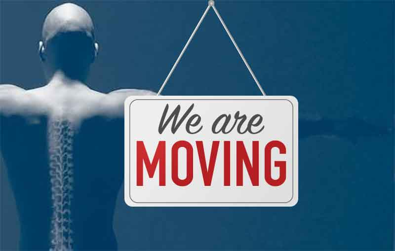 Our Chiropractic Office is Moving